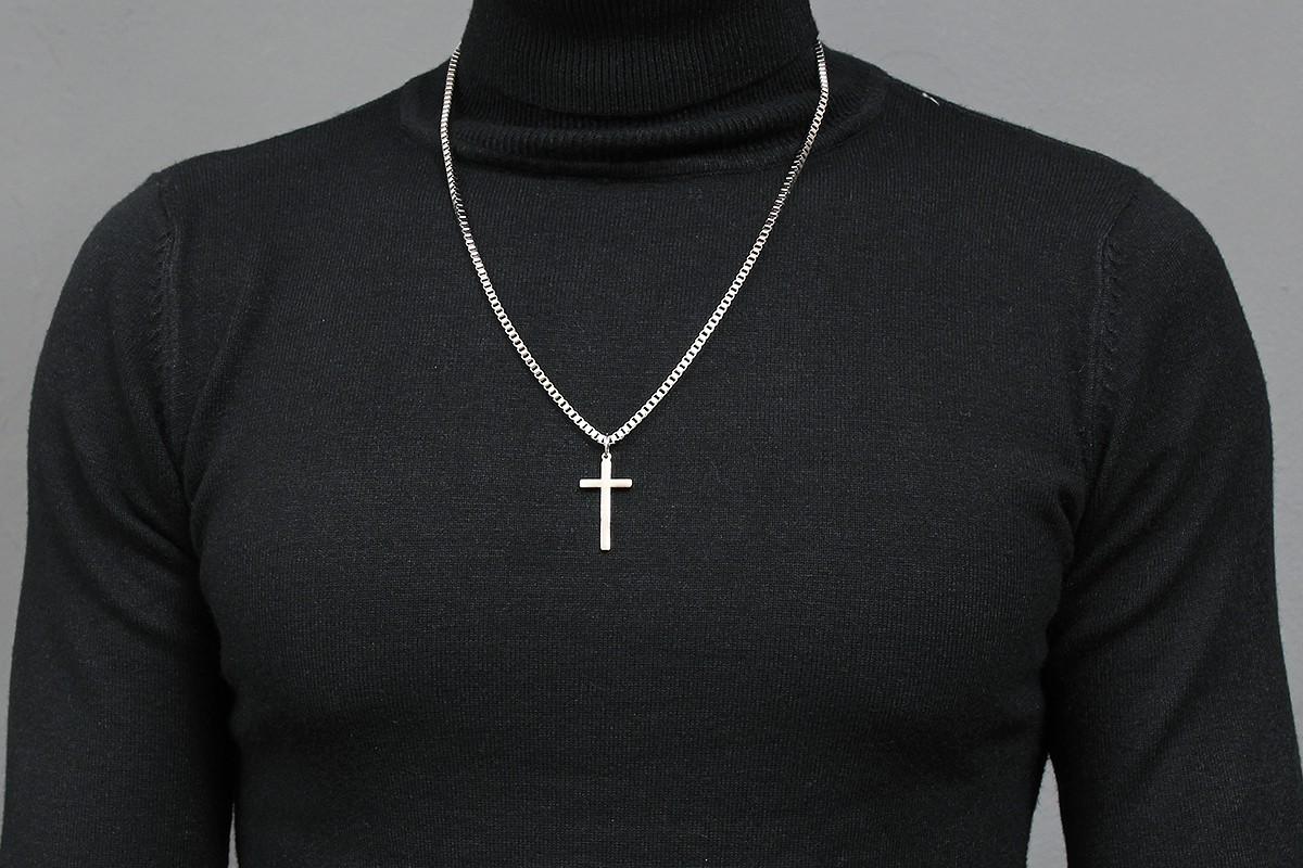 jewelry product pendant null metallic lyst konstantino cross maltese square gallery in